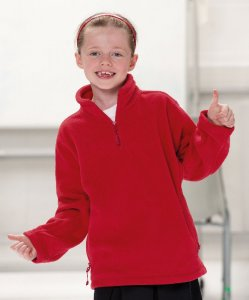 Kids' 1/4 Zip Fleece Sweater