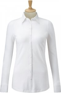 Ladies' Business Blouse-Stretch Shirt longsleeve