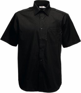 Men's Poplin Shirt shortsleeve