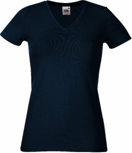 Ladies' Stretch V-Neck T-Shirt