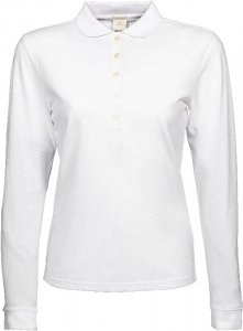 Ladies' Luxury Piqué Stretch Polo longsleeve
