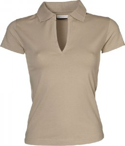 Ladies' Stretch Jersey Polo