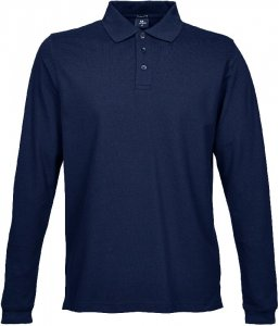 Men's Heavy Luxury Piqué Stretch Polo longsleeve
