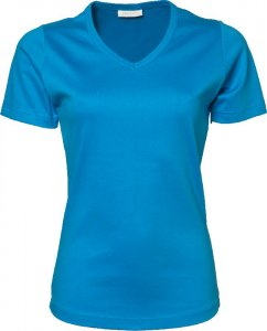 Ladies' Interlock V-Neck T-Shirt
