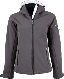 Ladies' Hooded Fashion Softshell Jacket