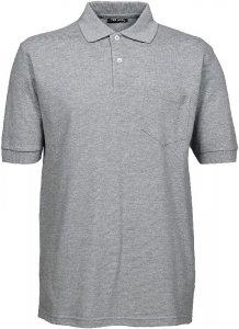 Men's Piqué Polo with pocket
