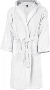 Velours Hooded Bathrobe
