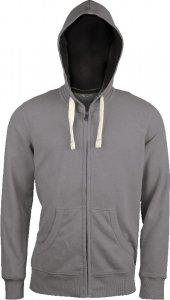 Men's Vintage Hooded Sweat Jacket