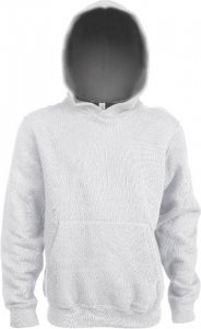 Kids' Contrast Hooded Sweatshirt