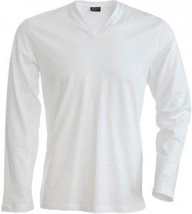 Men's Stretch V-Neck T-Shirt longsleeve