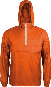 1/4 Zip Unlined Windbreaker