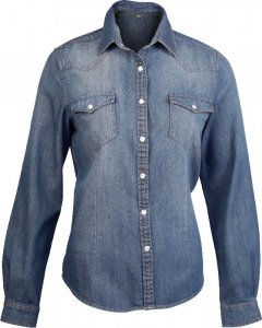 Denim Blouse longsleeve