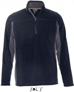 Contrast Half Zip Fleece