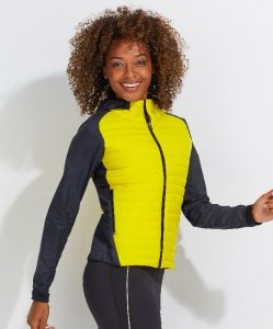 Ladies' Running Jacket with down