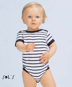 Baby Body with Stripes