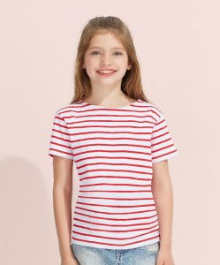 Kids' T-Shirt with Stripes