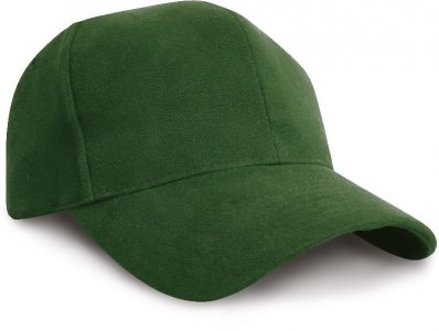 Low Profile Heavy Brushed Cap with Piping