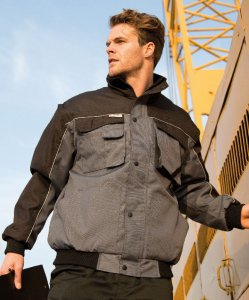 Workwear Jacket with Zip-Off sleeves