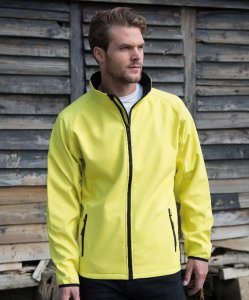 Men's 2-layer Printable Softshell Jacket