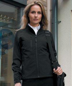 Ladies' 2-Layer Base Softshell Jacket