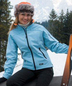 3-Layer Ladies Softshell Jacket