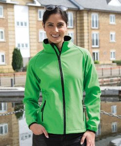 Ladies' 2-layer Printable Softshell Jacket
